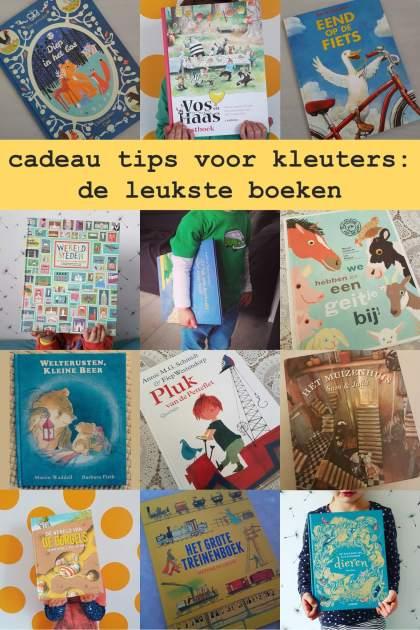cadeau tips voor kleuters: de leukste boeken