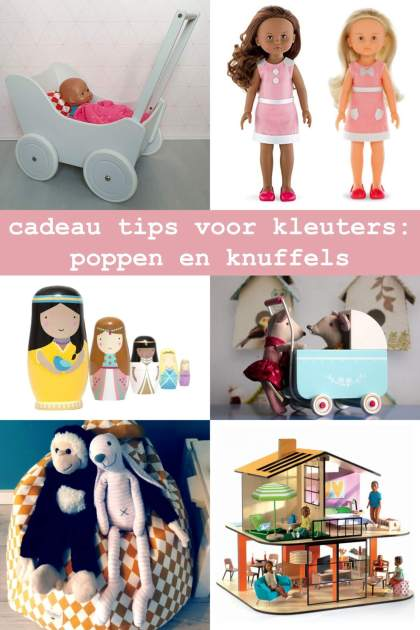 cadeau tips voor kleuters: de leukste poppen en knuffels