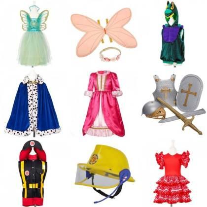 cadeau voor kids voor peuters, kleuters en kinderen: verkleedkleding voor in de verkleedkist