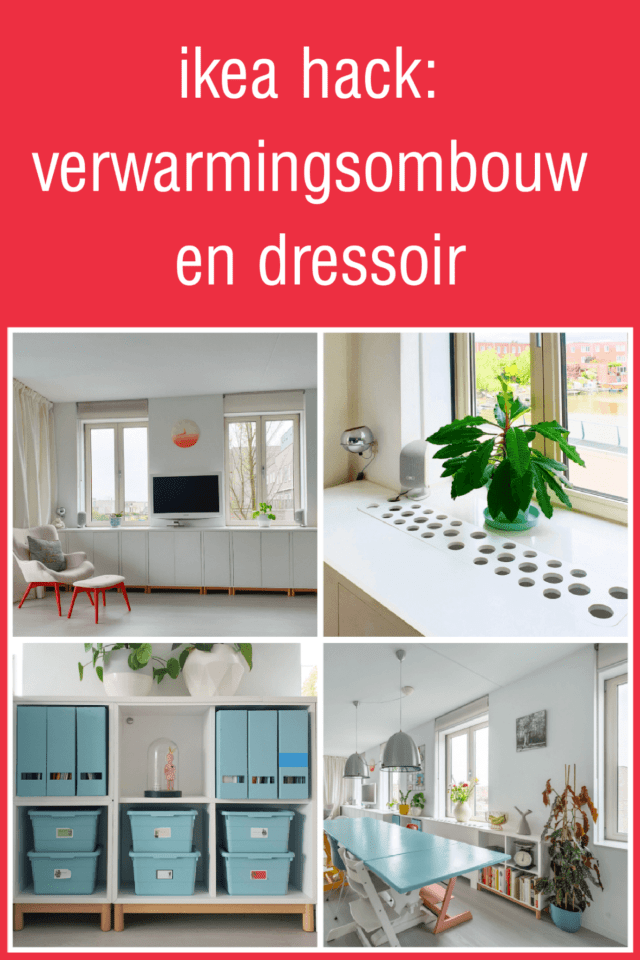 Ikea Hack: Eket verwarmingsombouw en dressoir. Eket heating conversion and sideboard dresser cupboard