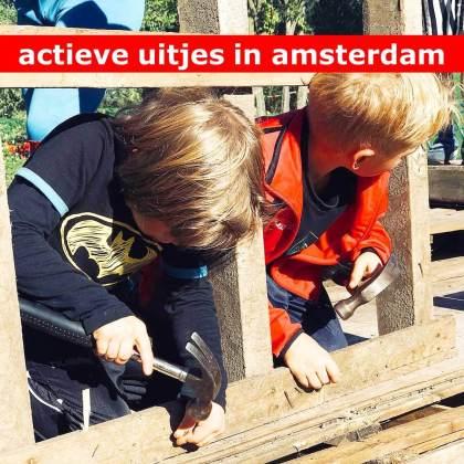 Actieve uitjes in Amsterdam met kinderen