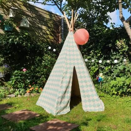 verjaardag cadeau ideeën voor een kleuter - tipi tent als cadeau voor kinderen