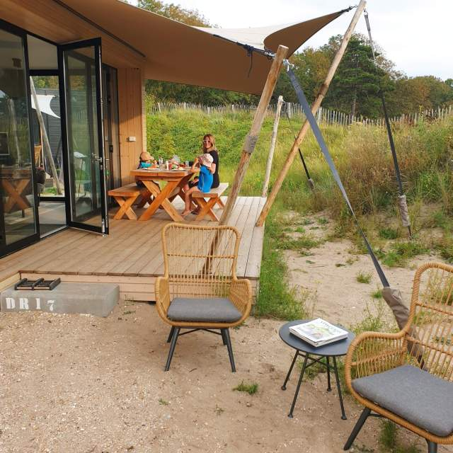 Weekendje weg met kinderen: een huisje op Camping Bakkum, genaamd de Duinroos