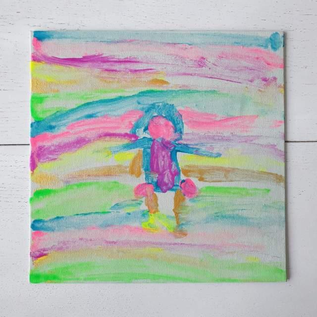 regenboog schilderij