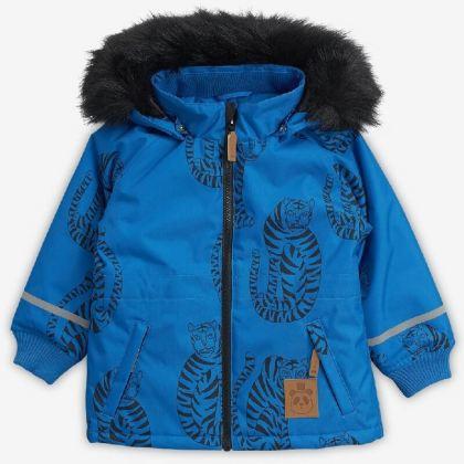 Mini rodini tijger parka winterjassen voor meisjes en jongens