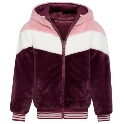 omkeerbare winterjas voor meisje van we fashion
