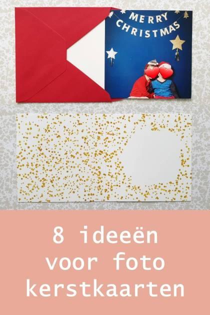 Verrassend Creatieve foto kerstkaarten maken met kinderen: 8 leuke ideeën KP-47