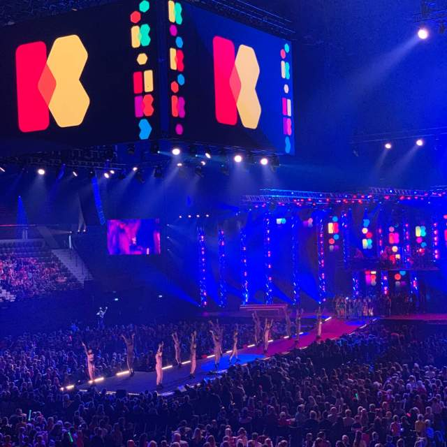 de live show van 2019