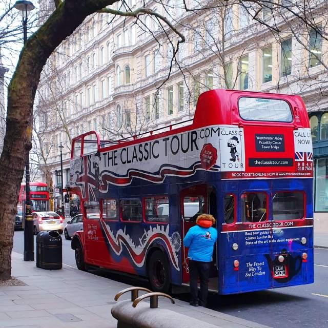 Dubbeldekker bussen