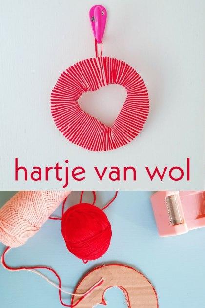 Wonderbaar Hartjes hanger knutselen voor Valentijnsdag - Leuk met kids FH-05