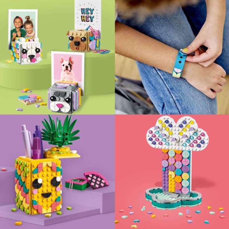 LEGO DOTS: nieuwe creatieve LEGO waarmee je spullen kunt decoreren