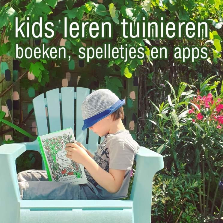Kinderen leren over tuinieren en planten: boeken, spelletjes en apps