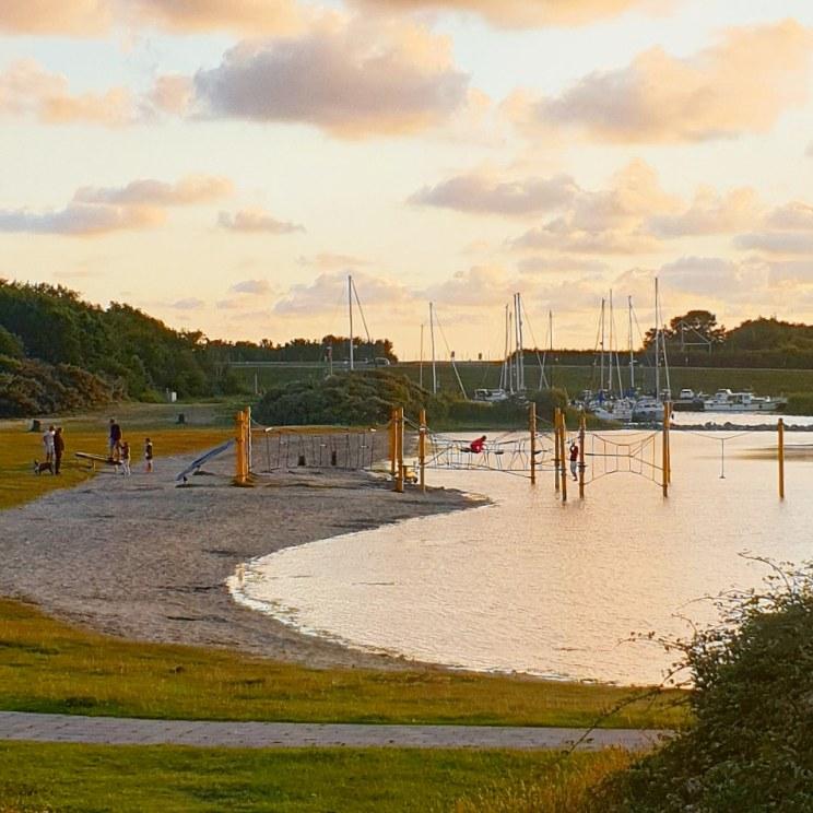Schouwen-Duiveland met kinderen: vakantie en uitjes - speeltuin bij de Brouwersdam