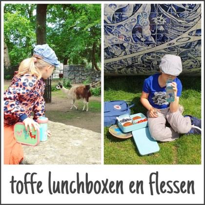 Toffe lunchboxen en drinkflessen voor kinderen: klaar voor school