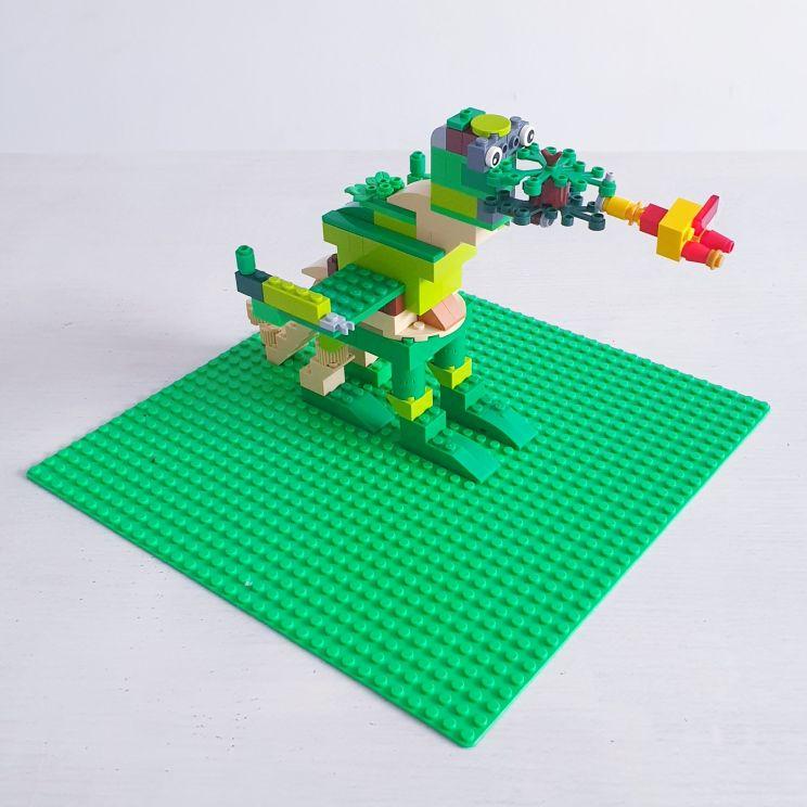 LEGO draak bouwen - dragon diy