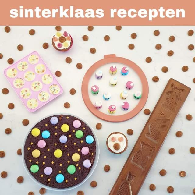Sinterklaas recepten: leuke ideeën om te knutselen met eten