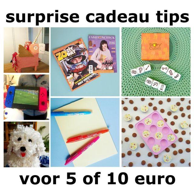Sinterklaas surprise cadeau ideeën: tips voor kinderen en tieners