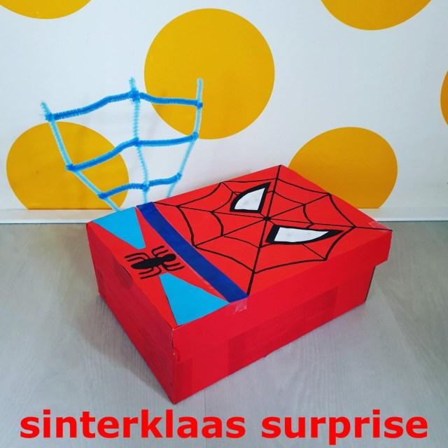 Sinterklaas surprise knutselen: heel veel leuke ideeën - superheld spiderman