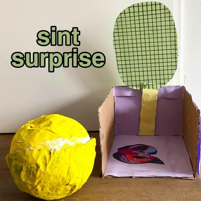 Sinterklaas surprise knutselen: heel veel leuke ideeën - tennisbal met racket voor tennis liefhebber