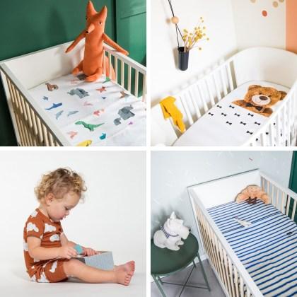 Leukste kraamcadeau: 101 cadeau ideeën voor de geboorte van een baby. Mooi beddengoed geeft de babykamer meteen een leuke sfeer, zoals dit beddenboed van Snurk Amsterdam.