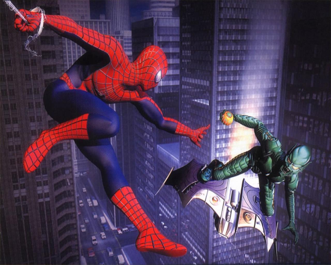 Om Animation Wallpaper Leuk Voor Kids Spiderman Vs De Troll