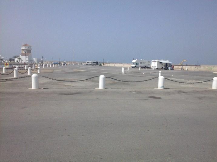 Stellplatz am Hafen