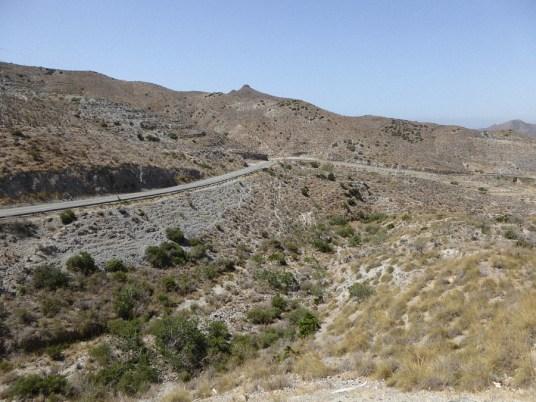 Hügellandschaft Spanien