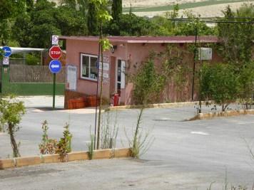 Rezeption Stellplatz ACIndalo