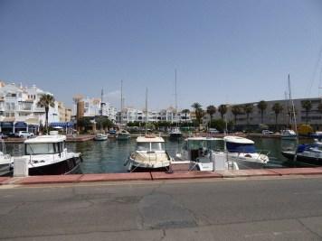 Hafen von Almerimar