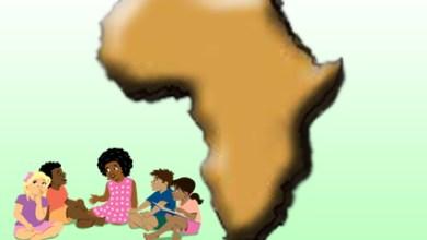 صورة معالجة أدب الطفل لقضايا المجتمعات المحلية والتنمية المستدامة بأفريقيا بقلم أدهم مسعود