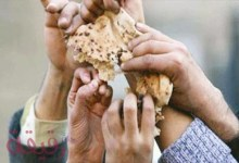 صورة الجائع يحلم بالخبز
