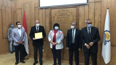 صورة وزيرة الثقافة تشارك محافظ قنا في الاحتفال بيوم المرأة المصرية