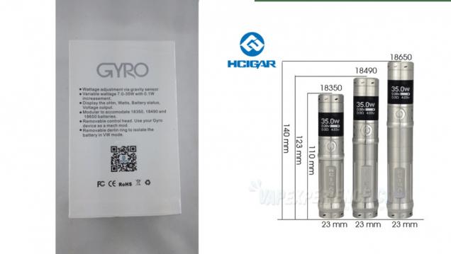 Gyro-HCIGAR-Specs-Tailles-Declinaison
