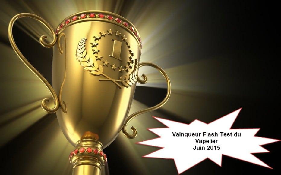 Le vainqueur du concours Flash Test de juin est…