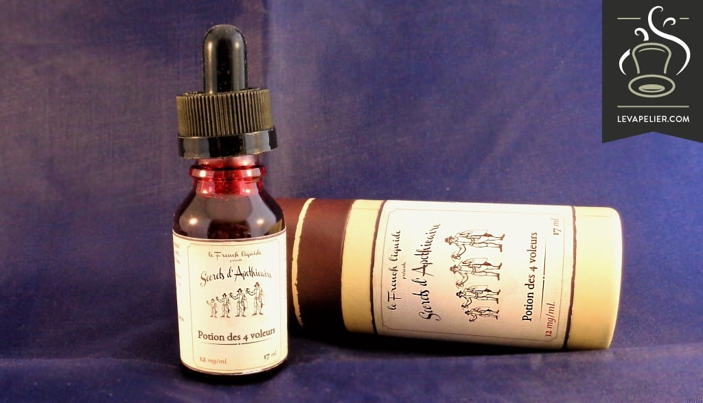 4 Thieves Potion by The French Liquid (Apothecary Secrets range)
