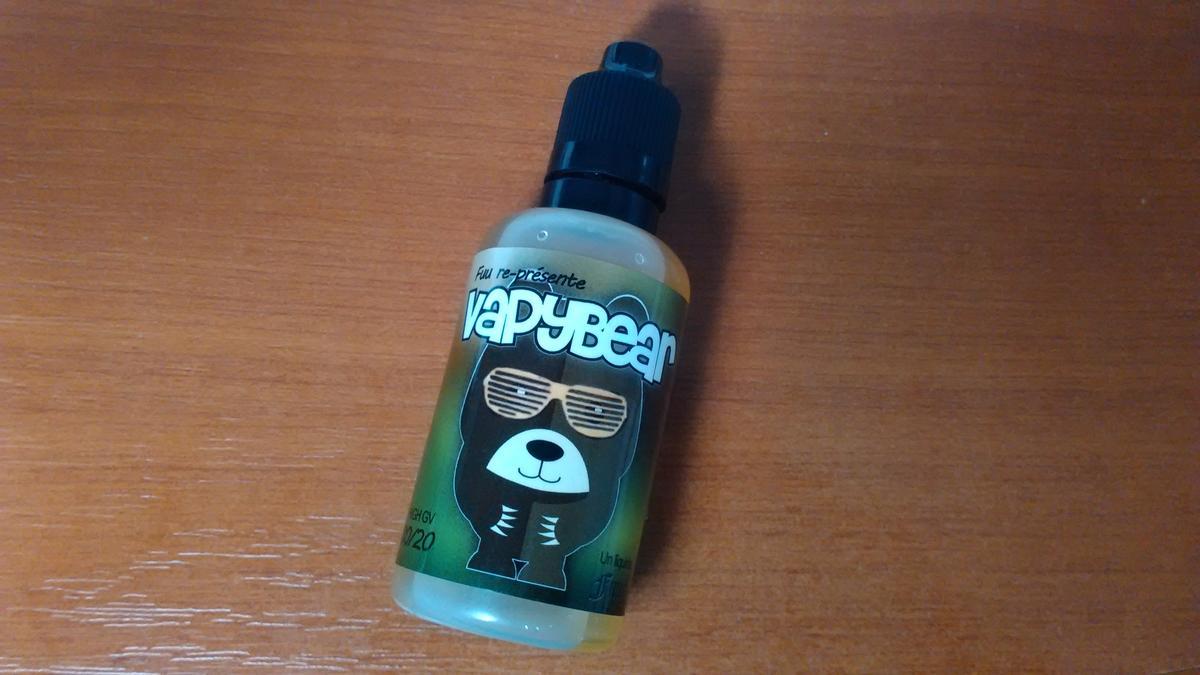 Vapybear (gamme FUUG Life) par Fuu