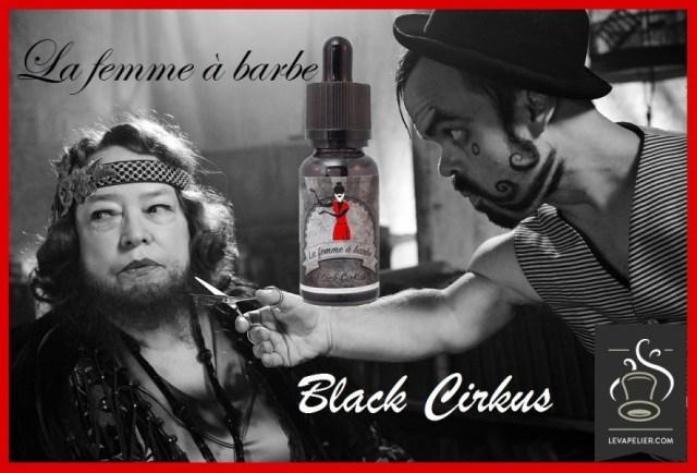 La donna con la barba (gamma Black Cirkus) di Cirkus