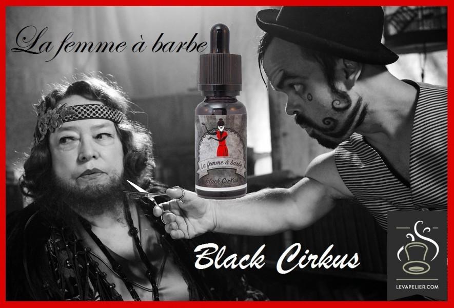 De bebaarde vrouw (Black Cirkus range) van Cirkus