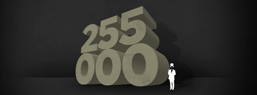 255 000-pagina's lezen over twee weken