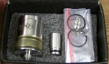 Haze RDA tank package