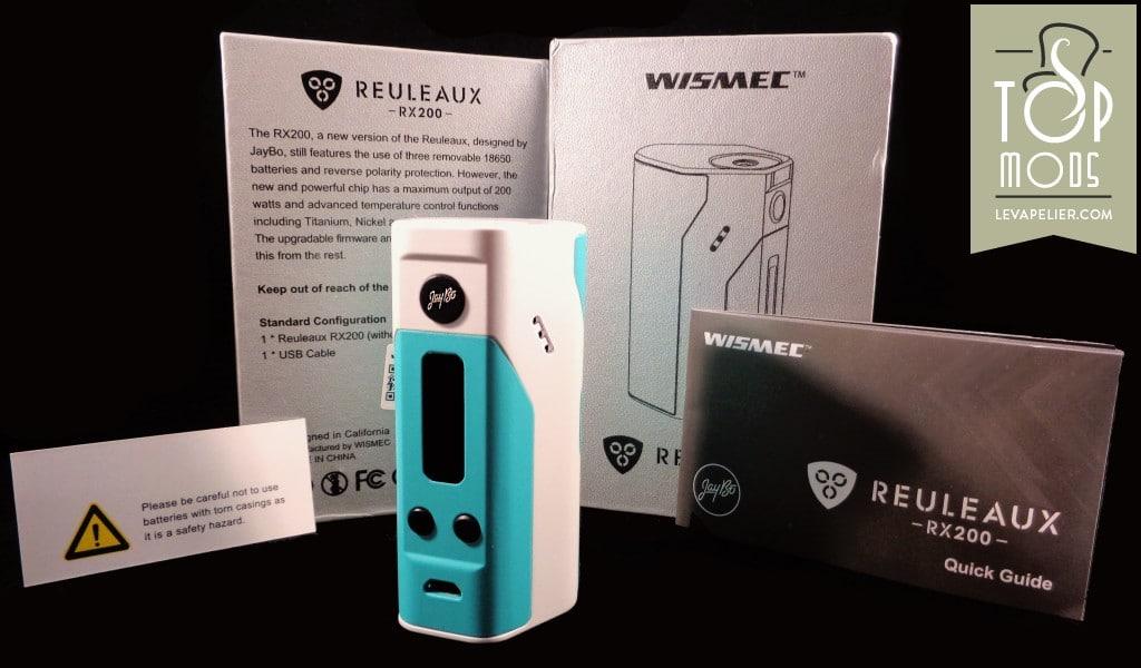 Reuleaux RX200 par Wismec