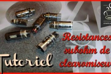 How to rebuild your Subohm resistances
