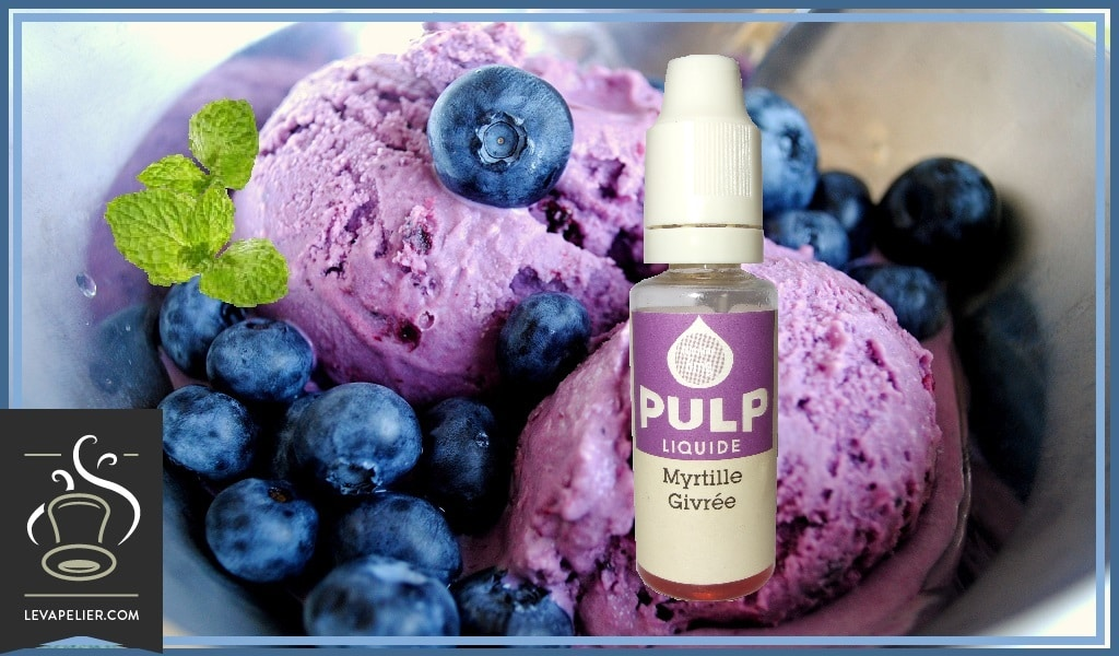 Pulp frosted blueberry