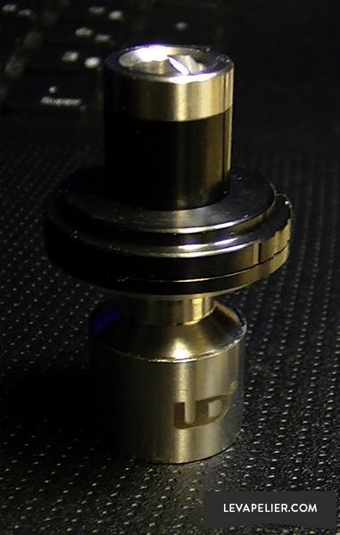 UD Mini Goblin V2 Cheminée + top cap + drip tip original
