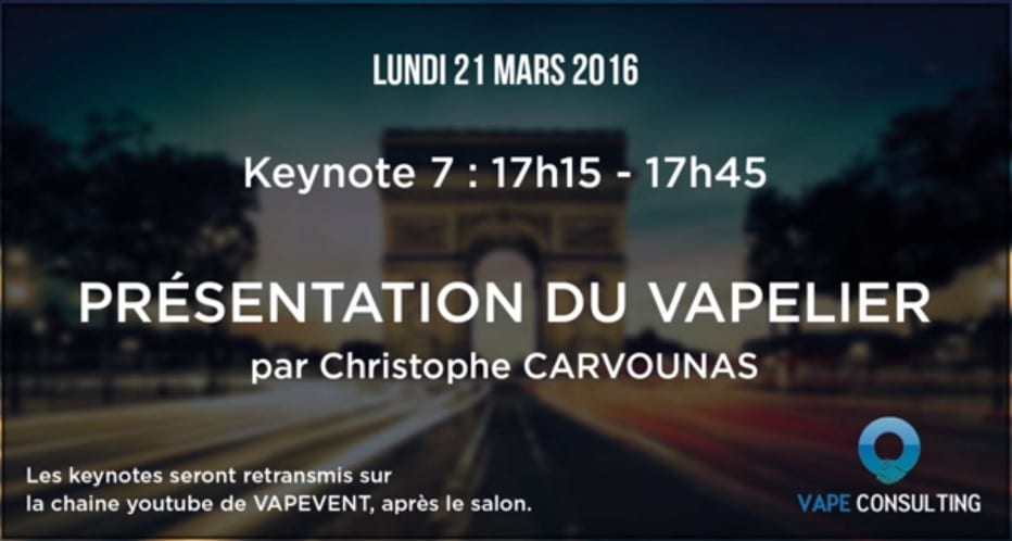 VAPEVENT 2016: The Vapelier