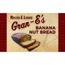 Banana nuts bread par Mister E-liquid [VapeMotion]