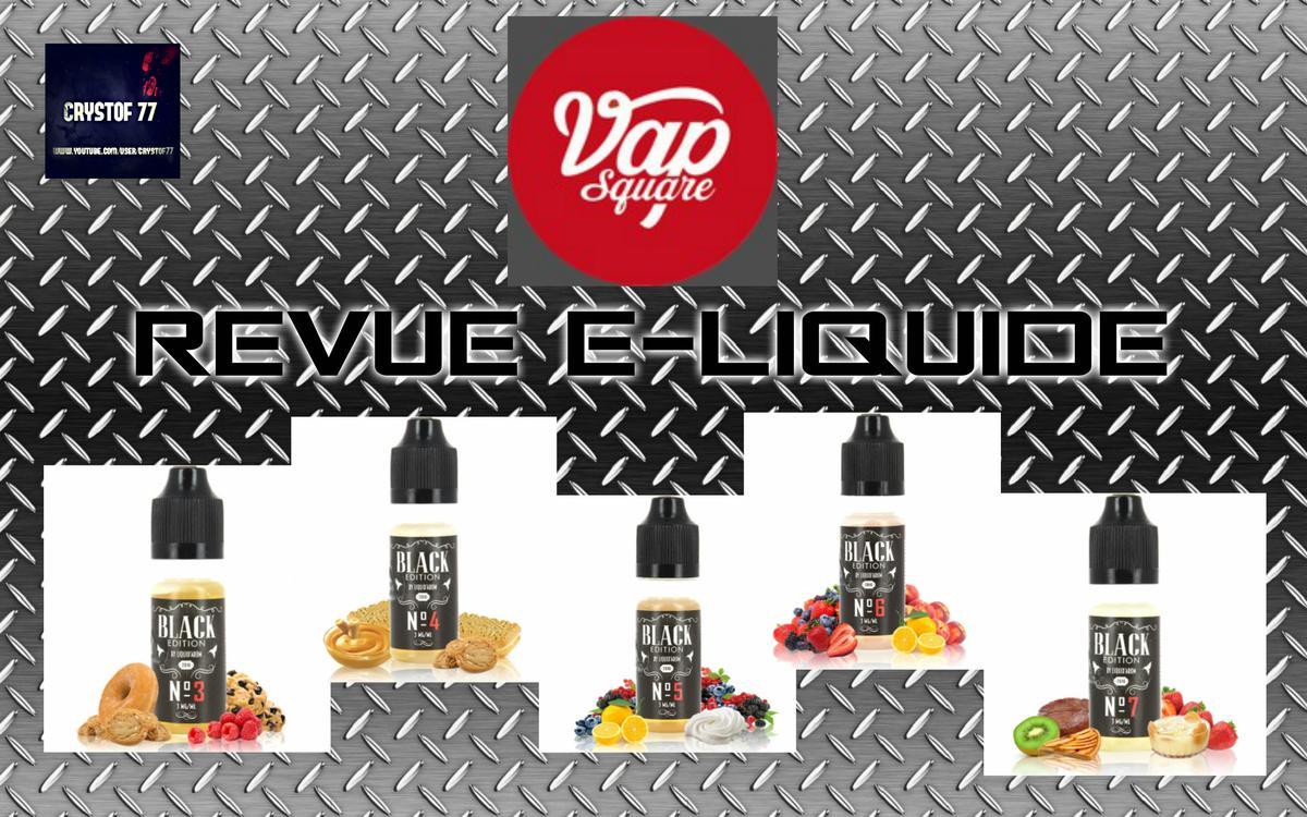 Black Edition Gamme E-liquide par Liquid' Arome [VapeMotion]