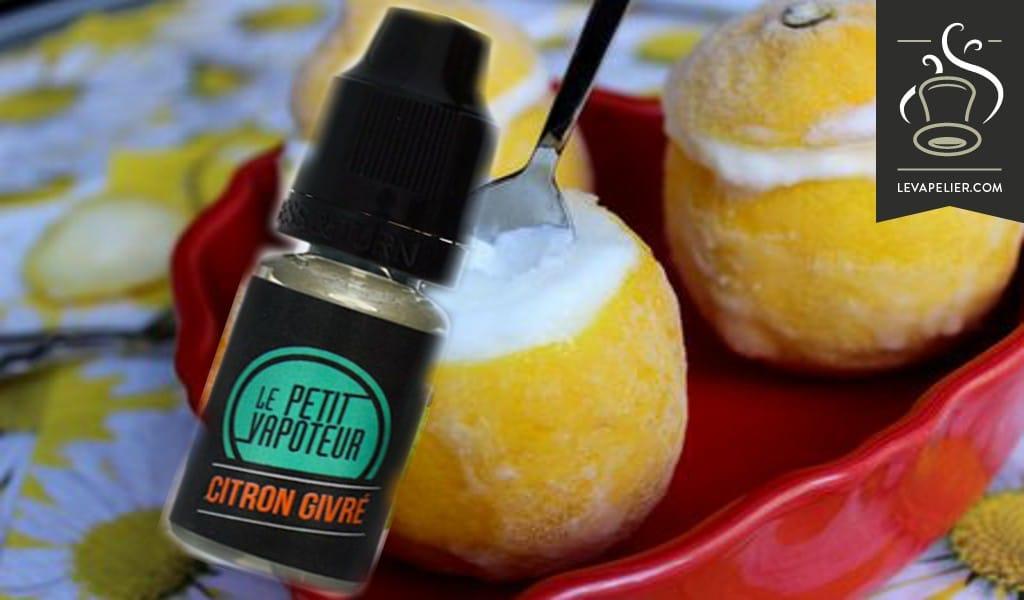Citron Givré par Le Petit Vapoteur
