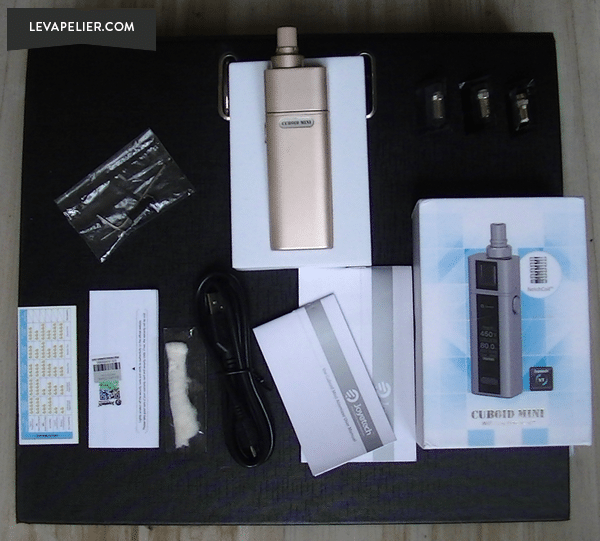Cuboid mini kit package