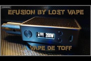 Efusion van Lost Vape [VapeMotion]